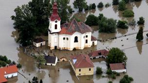 Floods in Europe 欧洲中部遭暴雨洪水袭击