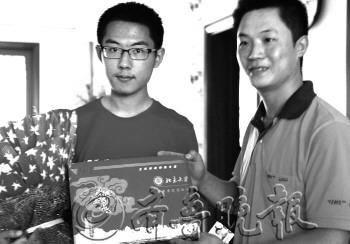 山东济宁2013年第一封高考录取通知书由北大寄出