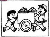 小学一年级看图写话练习题(七)
