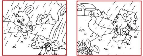 小学一年级看图写话练习题(八)