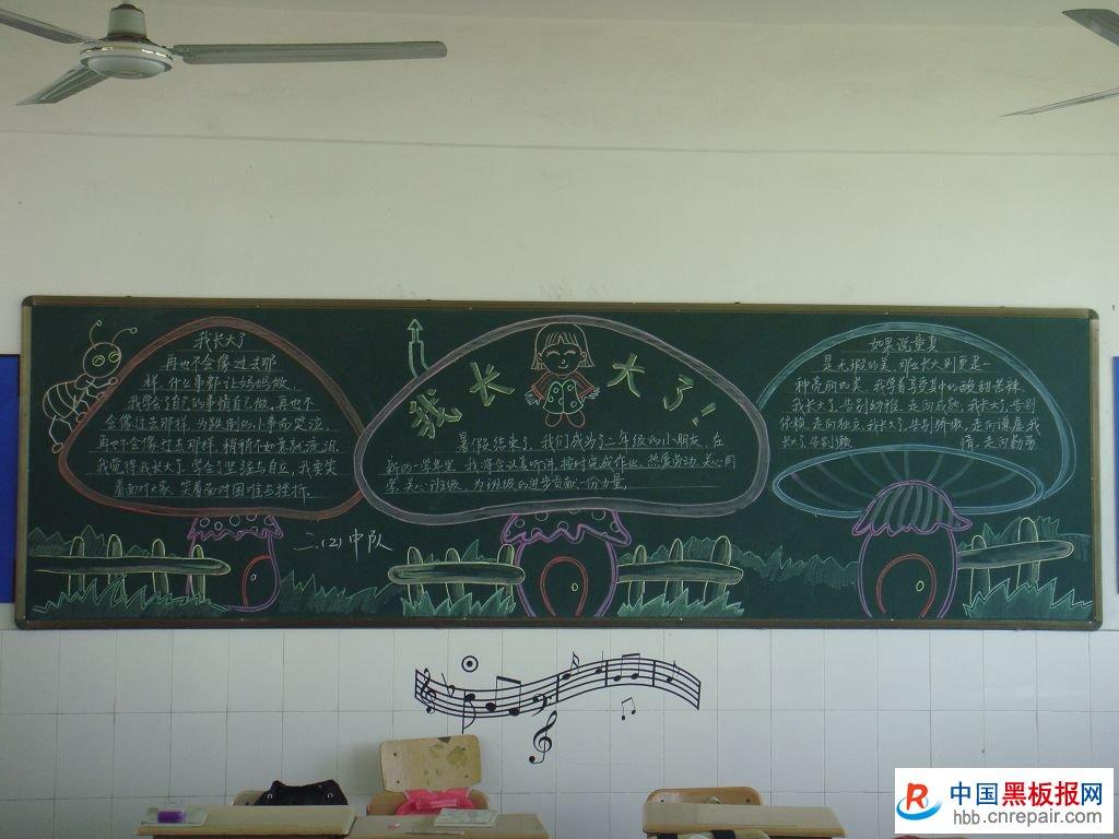 新学期黑板报资料