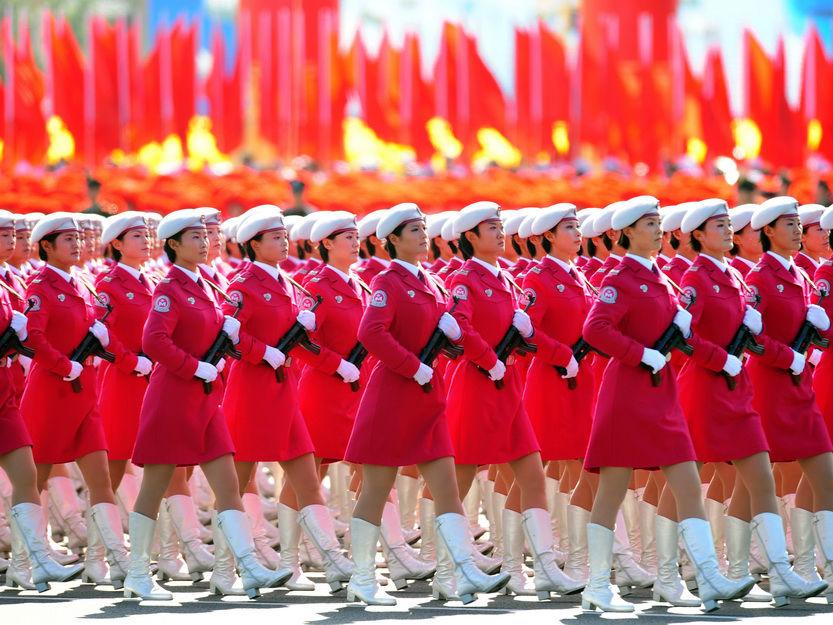2009中国国庆大阅兵_2010国庆节盘点中国14次国庆大阅兵组图1