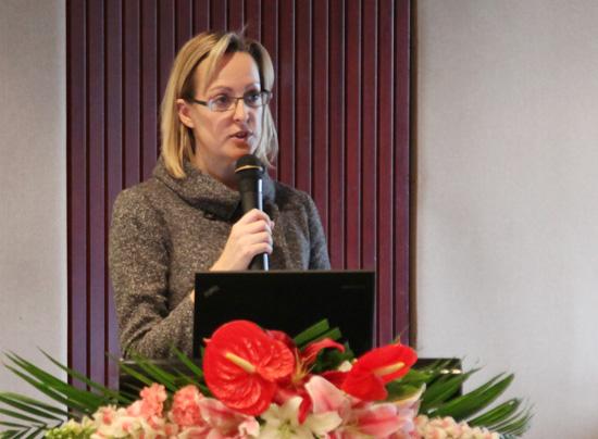 柯林斯集团Language Learning Publishing总监 Catherine Whitaker女士