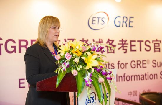 美国教育考试服务中心GRE项目沟通与服务总监Dawn Piacentino