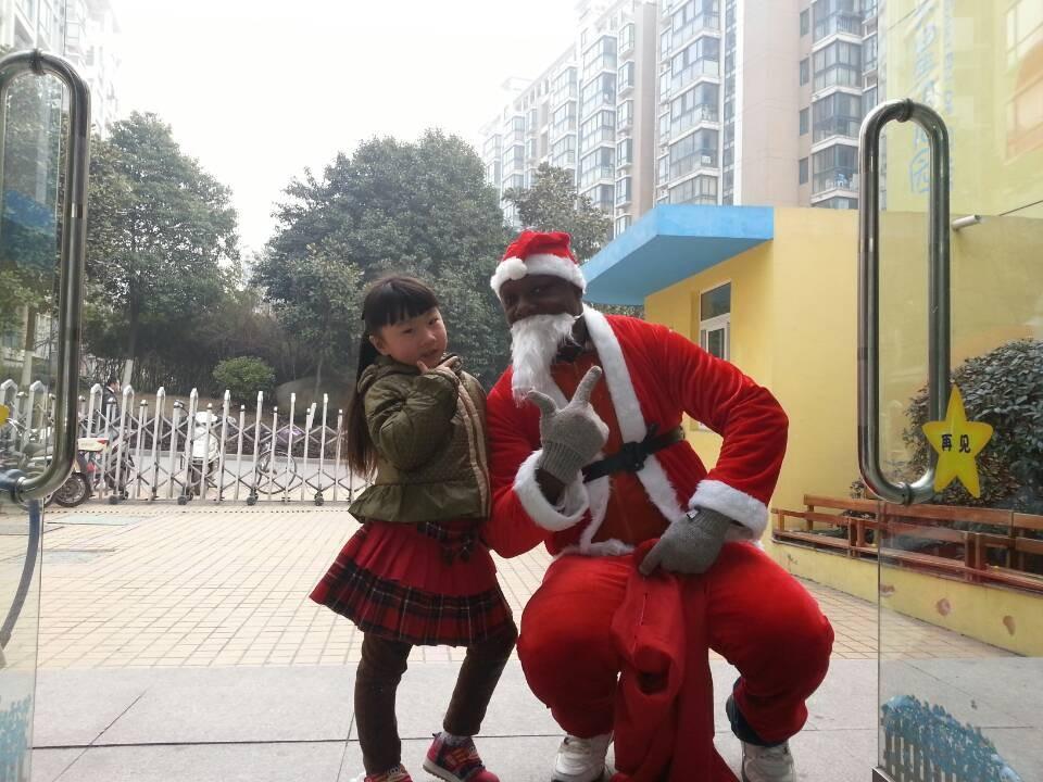 满天星幼儿园南京园区欢乐圣诞节