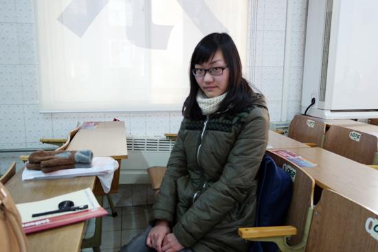 新东方法语专业四级学员刘畅