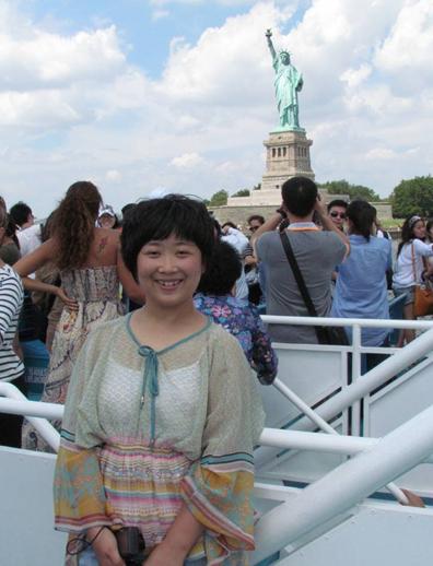 北京新东方听说速成的英语教师刘瑞君