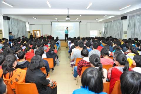 2014梦想之旅桂林中学站活动现场