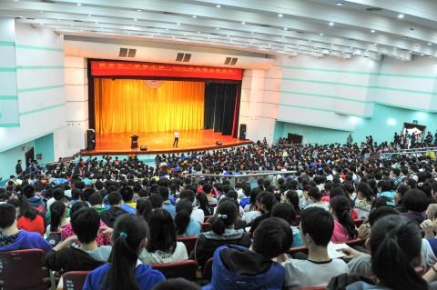 2014梦想之旅柳州站柳州高中