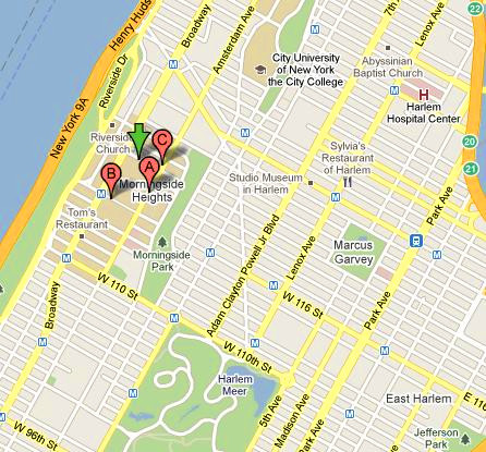 美国纽约自由岛 地图