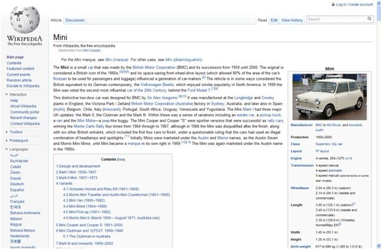 维基百科帮你准备雅思口语话题