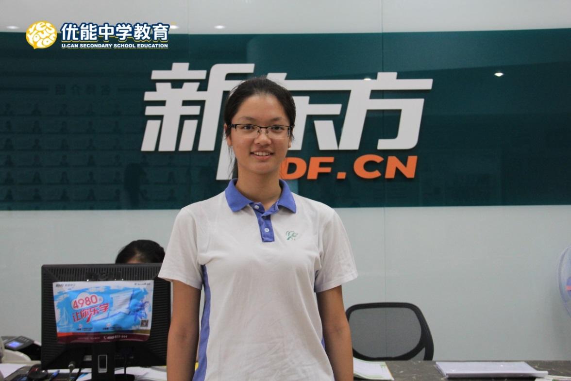 2014年高考深圳市理科状元侯斯琪专访