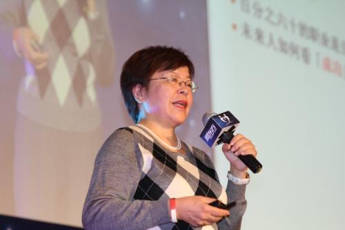 台湾师范大学教授、著名亲子教育作家、翻译家黄迺毓寄语第七届家庭教育高峰论坛