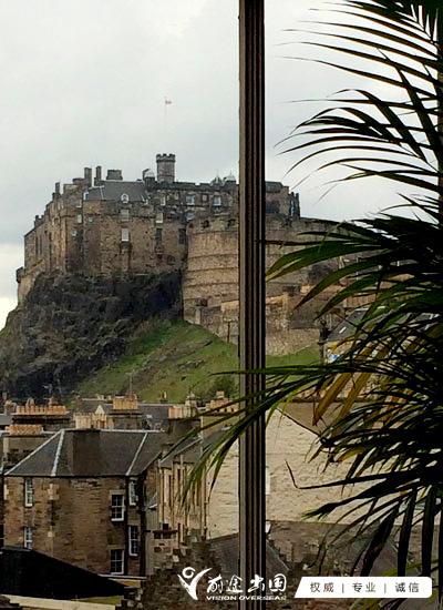 从大象博物馆远眺爱丁堡