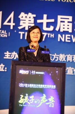 张小媛:全国妇联儿童工作部部长、中国家庭教育学会副会长