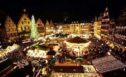 法国圣诞节:燃烧圣诞木祈福