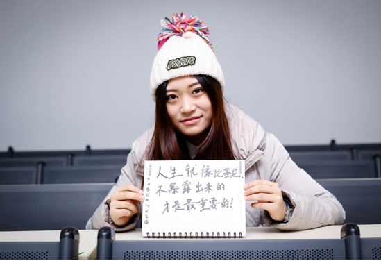 新东方学员刘诗敏:老师们的殷切鼓励是一路向前的动力