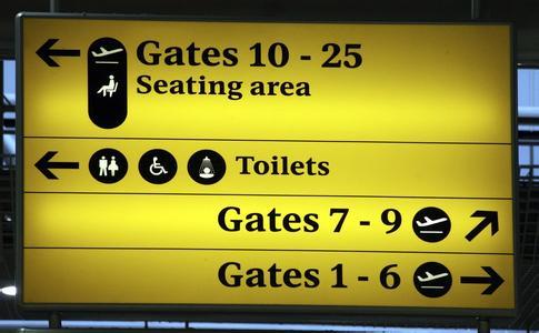 机场必备英语,出国旅游再也不担心啦
