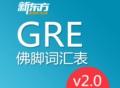 考前必备GRE佛脚词2.0版