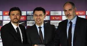 足球西语:新主教恩里克,助巴萨夺冠