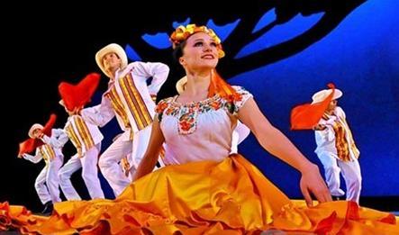 古巴哈瓦那丹松舞蹈节盛大开幕