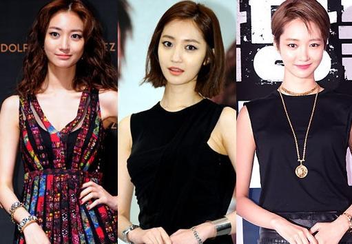 盘点更适合短发造型的韩国女明星