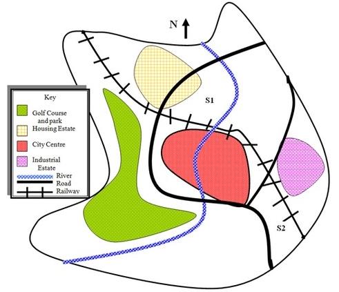 雅思写作地图题实例分析