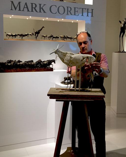 英国动物雕塑家mark coreth(马克·科尔斯)