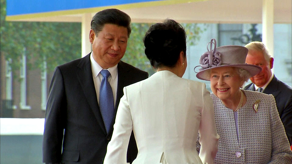 President Xi Jingping in the UK, Syrian conflict and Tutankhamun's beard 习近平主席访英、 叙利亚冲突和图坦卡蒙的胡须