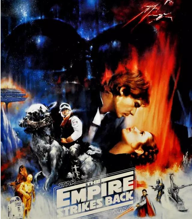 看电影海报 学英语单词:《星球大战5&6》精讲
