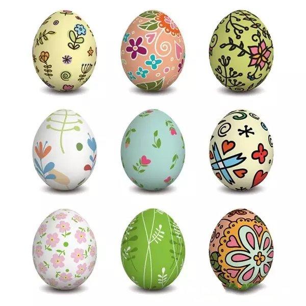 复活节画彩蛋,最有创意的小朋友在哪里