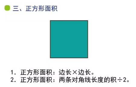 小學數學幾何易錯知識點