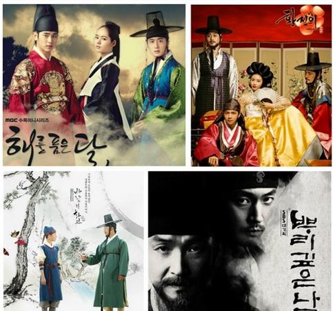 盤點韓國經典史劇TOP10