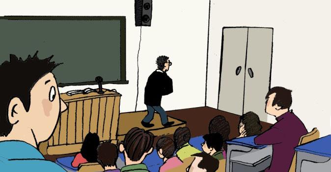 新东方人的故事:决不有负于学生