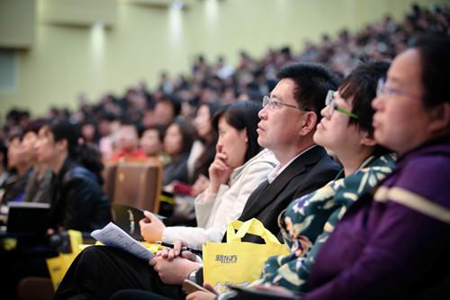 俞敏洪与顺义区学生的家长分享全民阅读理念