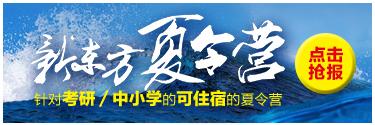 2016郑州新东方夏令营
