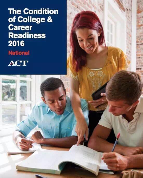 2016年ACT官方最新年度报告解读