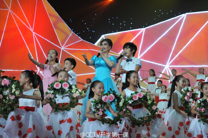 2016CCTV-1开学第一课现场精彩高清图集