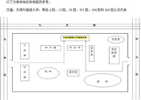 2016年9月24日 天津外国语大学雅思口语安排通知