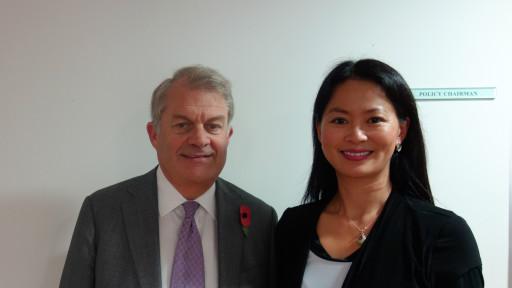专访:伦敦金融城主席谈人民币国际化