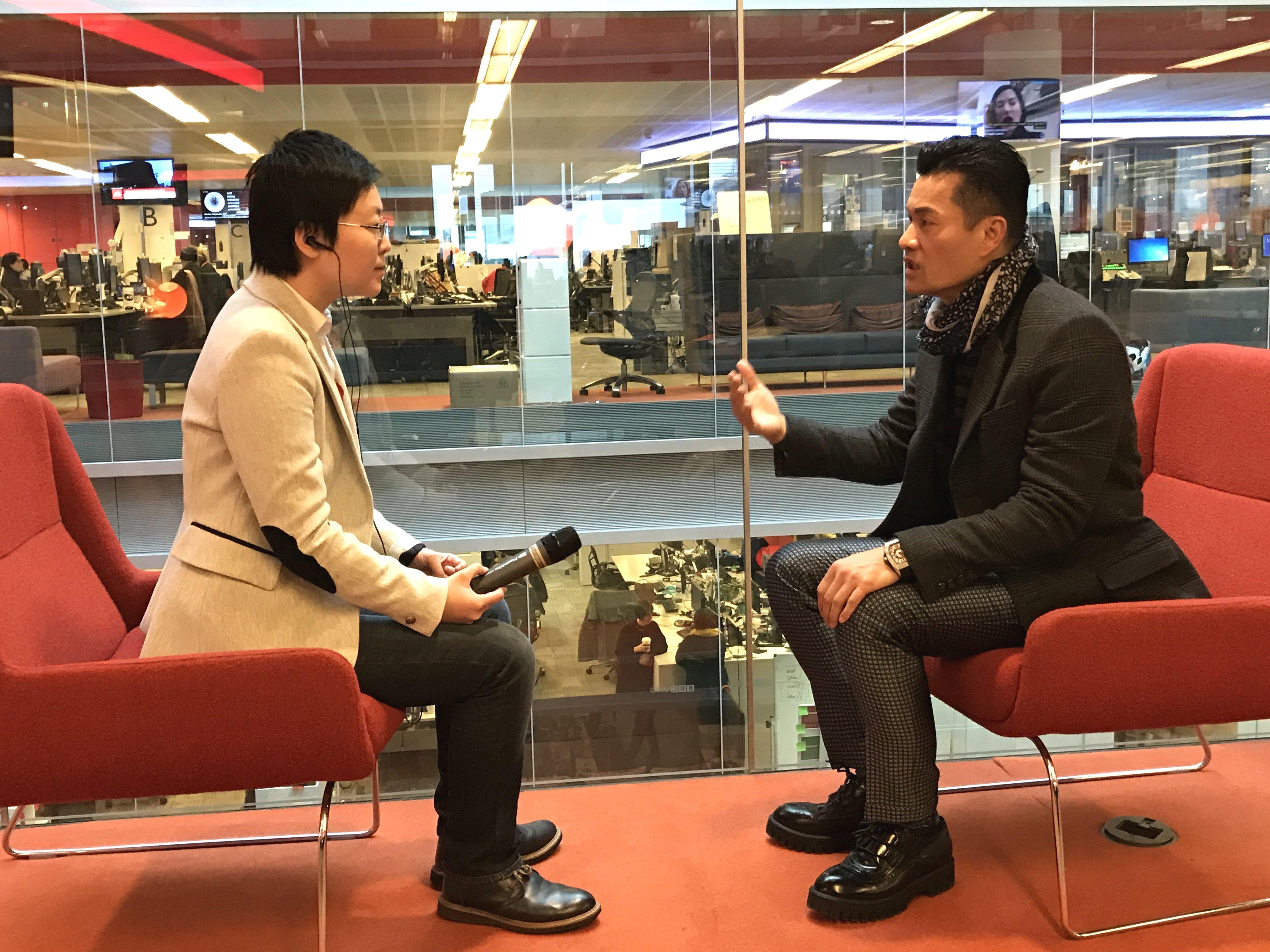 独家专访吕良伟:港府与民众之间应多沟通