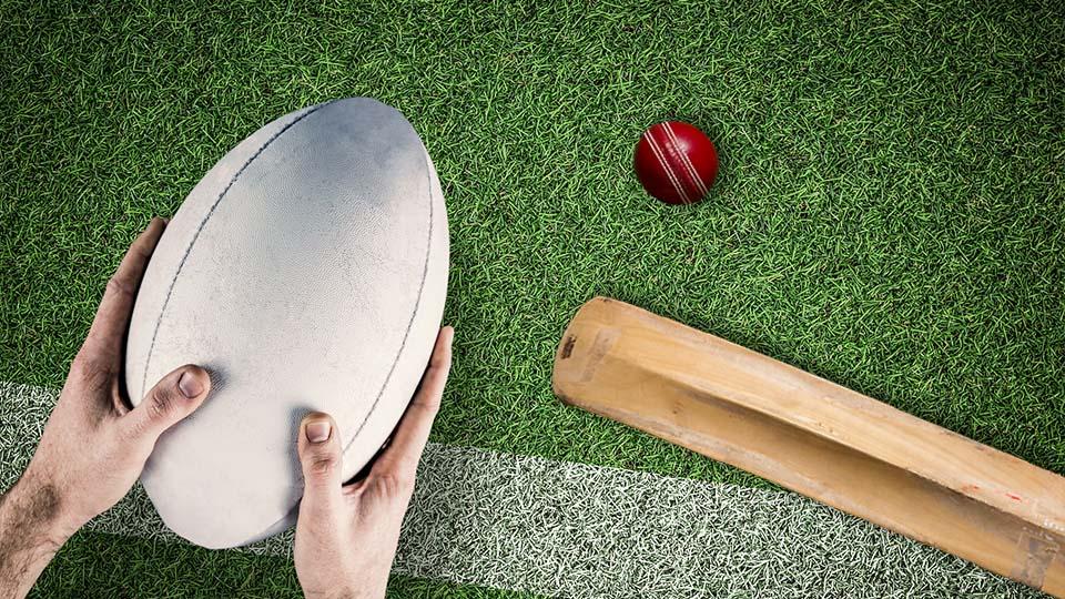 """英语表达源于""""橄榄球""""和""""板球""""运动的英语"""