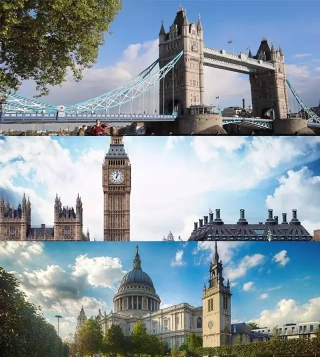 漫步伦敦街头