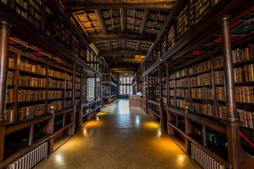 牛津大学图书馆,哈利波特图书馆