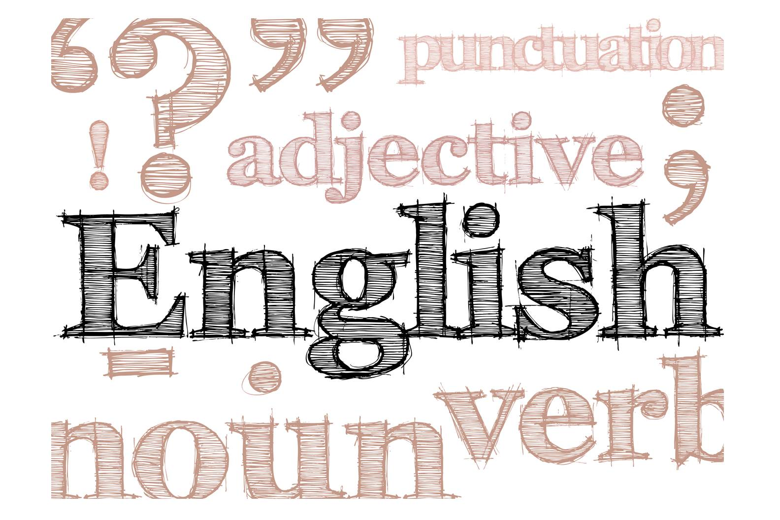 英语封皮设计图片