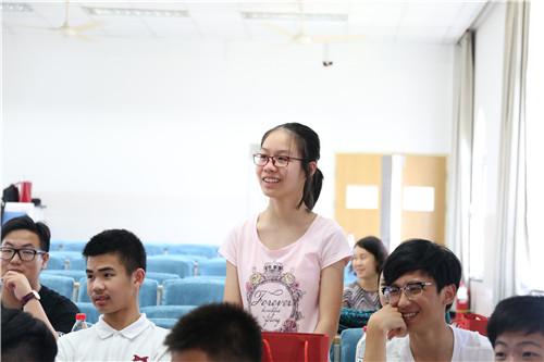 杭师大附中国际部高一新生家长会