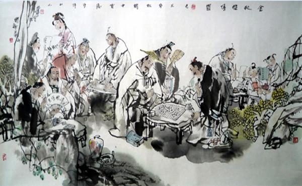 上海高三语文文言文 兰亭集序 译文