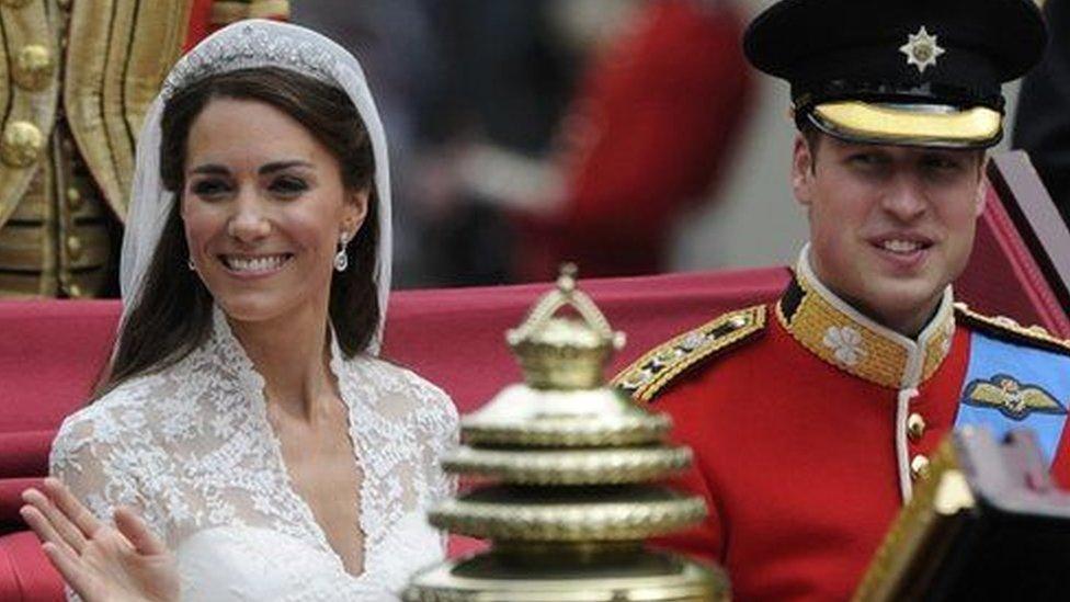 贵族大婚专秀旧货 向往环保岂分贵贱