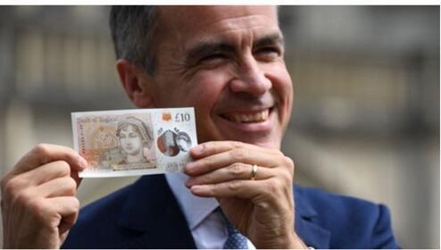 双语:来看看英国最新的纸币上印着谁的头像