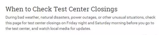 因飓风影响 8月26日部分北美考场SAT考试取消